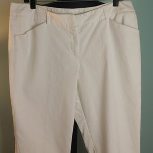 Investment white pants